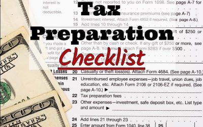 EZ Tax and Accounting Service, Inc.'s 2017 Tax Preparation Checklist